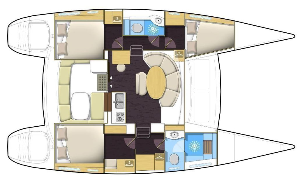 Due West Floor Plan