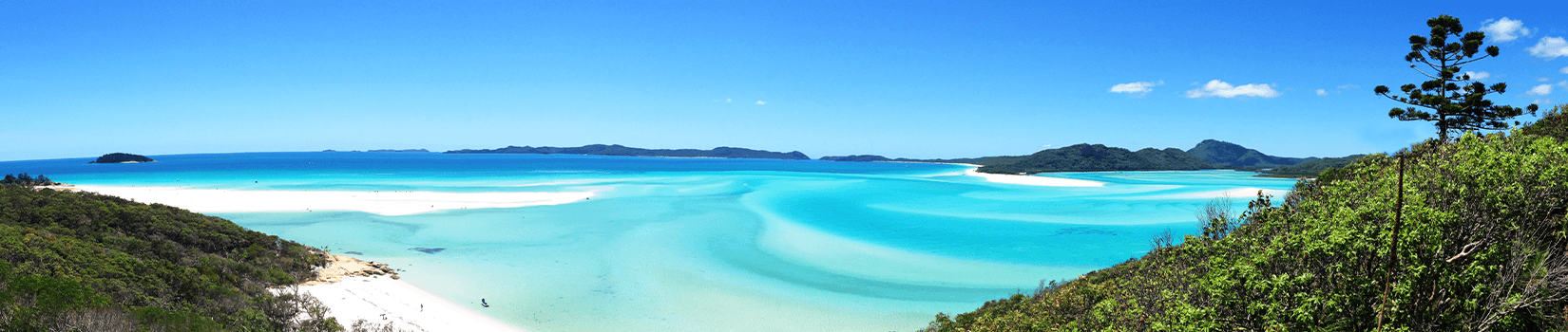 Popular Islands to visit in the Whitsundays