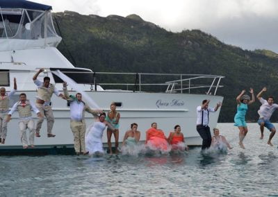 Queen Marie Whitsunday Wedding Party